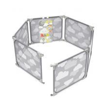 Skip Hop Ohrádka/zábrana s hracím panelem 2v1 rozšiřitelná
