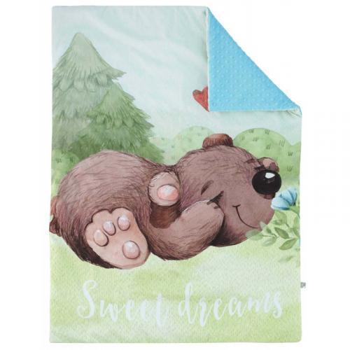 Esito Luxusní deka MINKY Medvěd