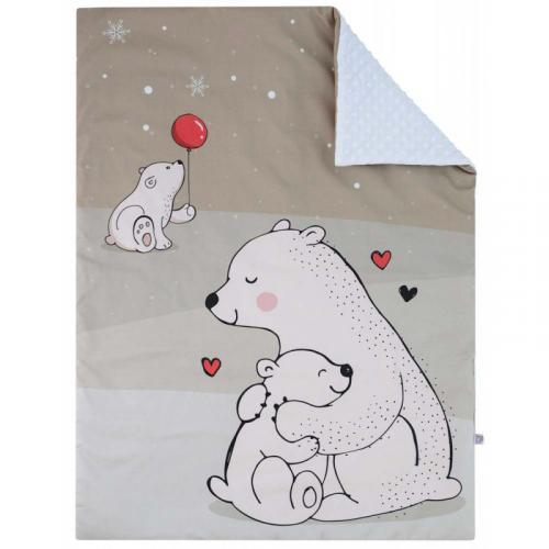 Esito Luxusní deka MINKY Lední medvěd