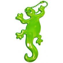 Glimmis reflexní přívěsek ještěrka zelená