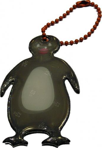 Glimmis reflexní přívěsek tučňák barevný