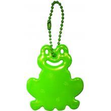 Glimmis reflexní přívěsek žába zelená