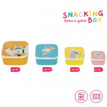 Badabulle Svačinové misky Snacking box 4 ks