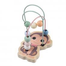 Jouéco The Wildies Family dřevěný mini labyrint Monkey 12m+