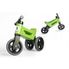 Teddies Odrážedlo zelené FUNNY WHEELS Rider Sport 2v1 18m+ v sáčku