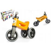 Teddies Odrážedlo oranžové FUNNY WHEELS Rider Sport 2v1 18m+ v krabici