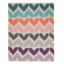 Petite&Mars Deka Harmony Pure Hearts 100% bavlna 80x100 cm