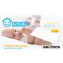 Náhradní podložka k monitoru dechu Nanny BM02. Je vhodná zejména k užívání zařízení na více místech, např. v další postýlce u babičky apod.