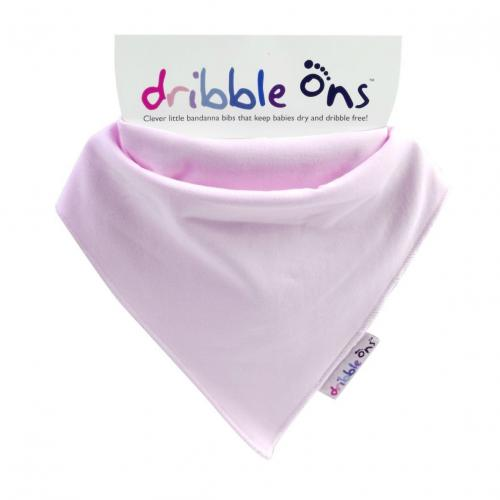 DRIBBLE ONS™ Classic Baby Pink