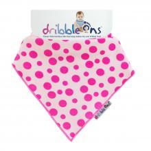 DRIBBLE ONS® Designer Pink Spots