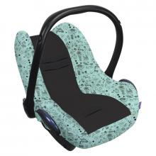 Dooky Seat Cover 0+ Limited potah na autosedačku LITTLE PRINCESS Glow in the Dark