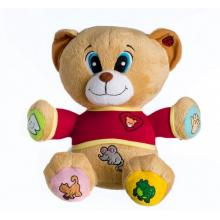 Teddies Medvěd Tedík mluvící říkanky plyš 30 cm