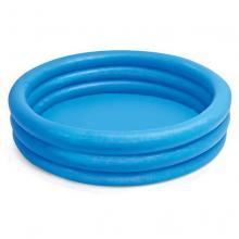 Intex nafukovací bazén modrý, 114x25, 3 komory
