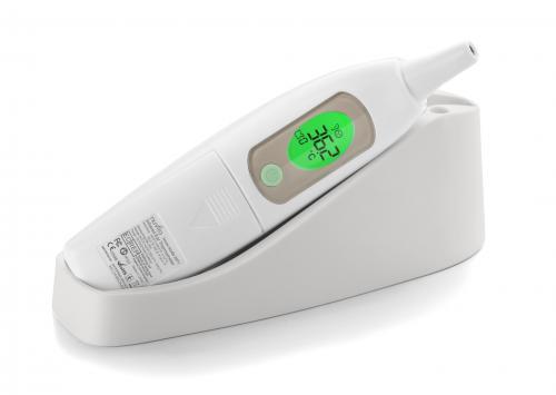 Nuvita digitální úšní teploměr s držákem