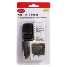 Clippasafe Popruhy proti převrhnutí televize