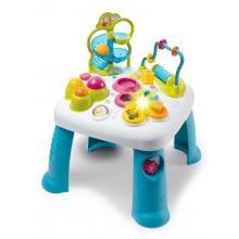 Smoby Cotoons Multifunkční hrací stůl modrý