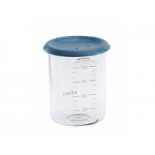 Beaba Kelímek na jídlo 120 ml modrý