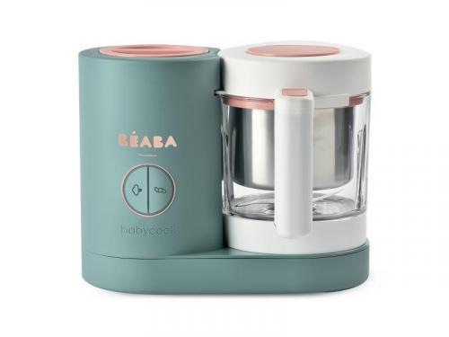 Beaba Parní vařič + mixér BABYCOOK Neo Eucalyptus