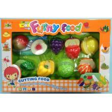 Mac Toys Set potravin na suchý zip modrá