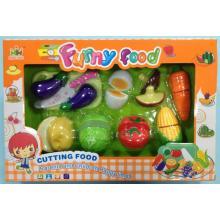 Mac Toys Set potravin na suchý zip růžová
