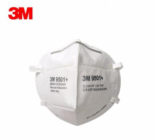 3M 9501+ respirátor FFP2 / KN95  50 kusů