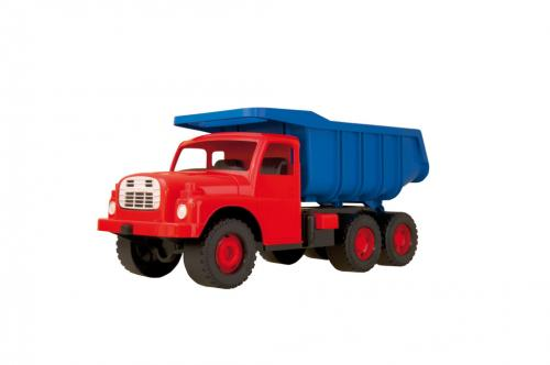 Dino auto Tatra 148 červeno/modrá, plastová 73 cm