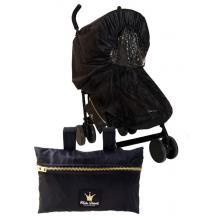Elodie Details pláštěnka na kočárek Black Edition