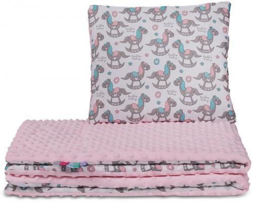 Tomi peřinky VELKÉ - Minky koník růžový