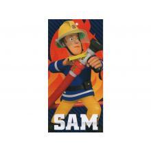 Setino plážová osuška požárník Sam 70x140 cm