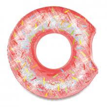 Mac Toys Nafukovací kruh donut se třpytkami