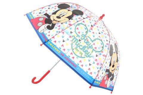 Lamps Deštník Mickey průhledný manuální