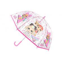 Lamps Deštník L.O.L. průhledný manuální