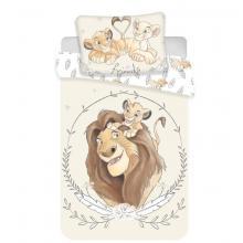 Jerry Fabrics povlečení do postýlky Lví Král baby 135x100 cm