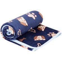 Esito Dětská deka jednoduchá Pejsek 75x100 cm