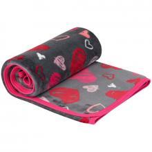 Esito Dětská deka jednoduchá Srdce 75x100 cm