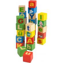 Beluga Dřevěné kostky s písmeny