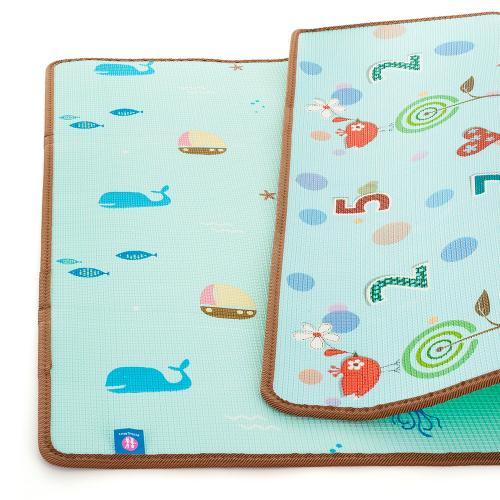 Petite&Mars Podložka na hraní Joy Nature 180x200x1 cm
