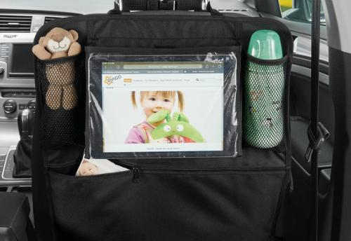 DIAGO Organizér do auta s držákem na tablet