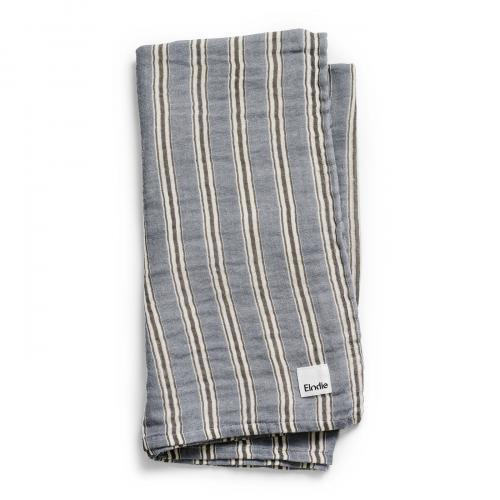 Elodie Details deka z bambusového mušelínu Sandy Stripe