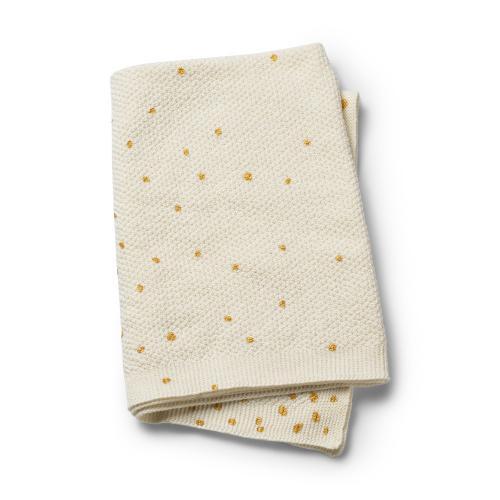 Elodie Details pletená deka Gold Shimmer