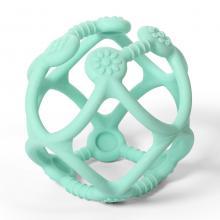 BabyOno Kousátko silikonové Ortho míček mint, 0m+