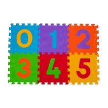 BabyOno Puzzle pěnové číslice 6 ks, 6m+