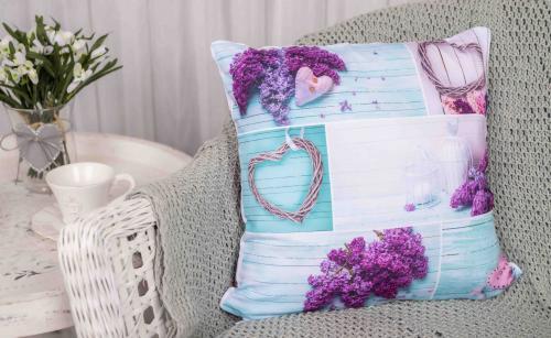 Sublimat povlak na polštářek Lilac