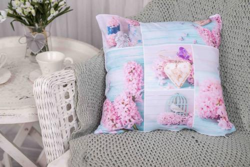 Sublimat povlak na polštářek Pink lilac 40x40 cm