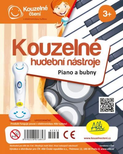 Albi KOUZELNÉ ČTENÍ Piano a bubny