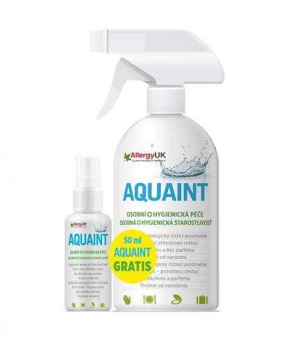 Aquaint 100% ekologická čisticí voda 500 ml + DÁREK Aquaint 50 ml
