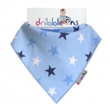 DRIBBLE ONS® Designer Blue Stars