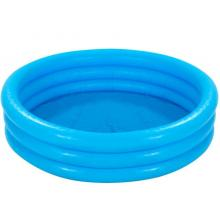 INTEX Nafukovací bazén modrý, 168 x 40 cm