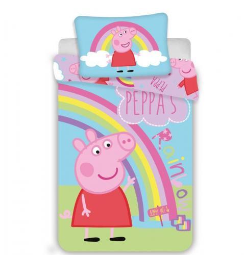 Jerry Fabrics povlečení do postýlky Peppa Pig 016 baby 135x100 cm