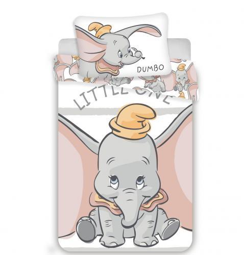 Jerry Fabrics povlečení do postýlky Dumbo stripe baby 135x100 cm
